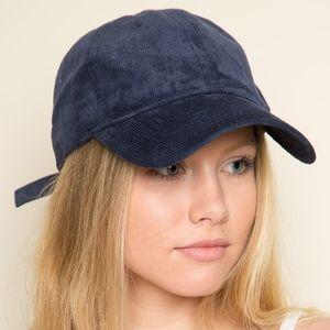 navy blue baseball cap